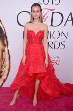 JOSEPHINE SKRIVER at CFDA Fashion Awards in New York 06/06/2016