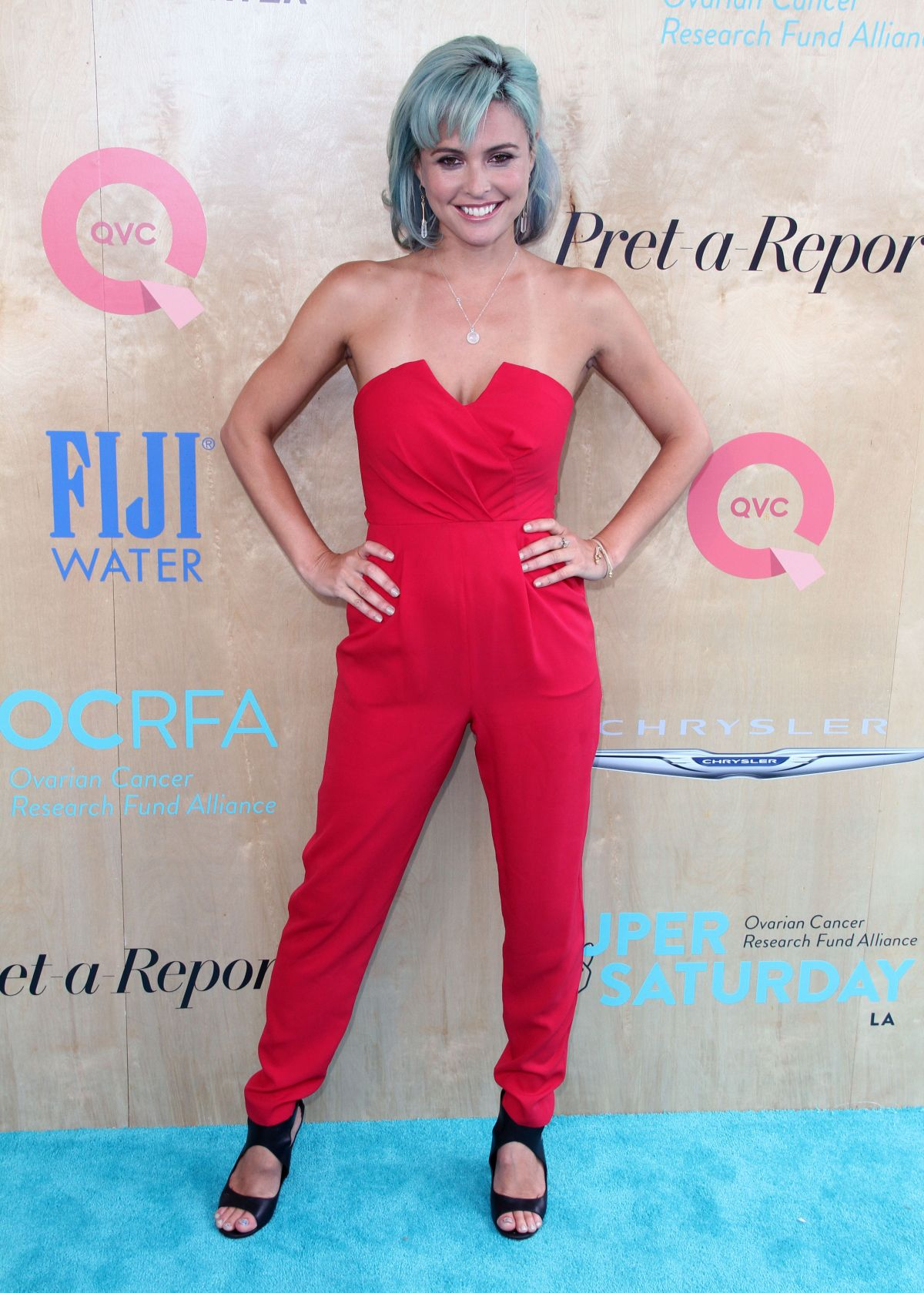 JOSIE MARAN at Ovarian Cancer Research Fund Alliance's 3rd Annual Super Saturday in Santa Monica 06/11/2016