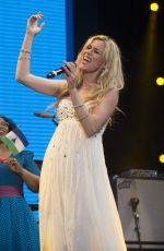 JOSS STONE Performs at Concert for Prince Harry