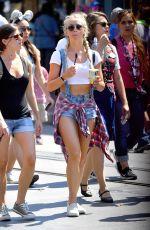 JULIANNE HOUGH at Disneyland in Anaheim 06/30/2016