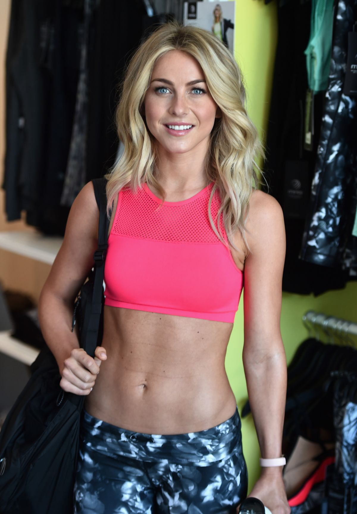 JULIANNE HOUGH at Shape Body Shop Launch in Los Angeles 06/18/2016