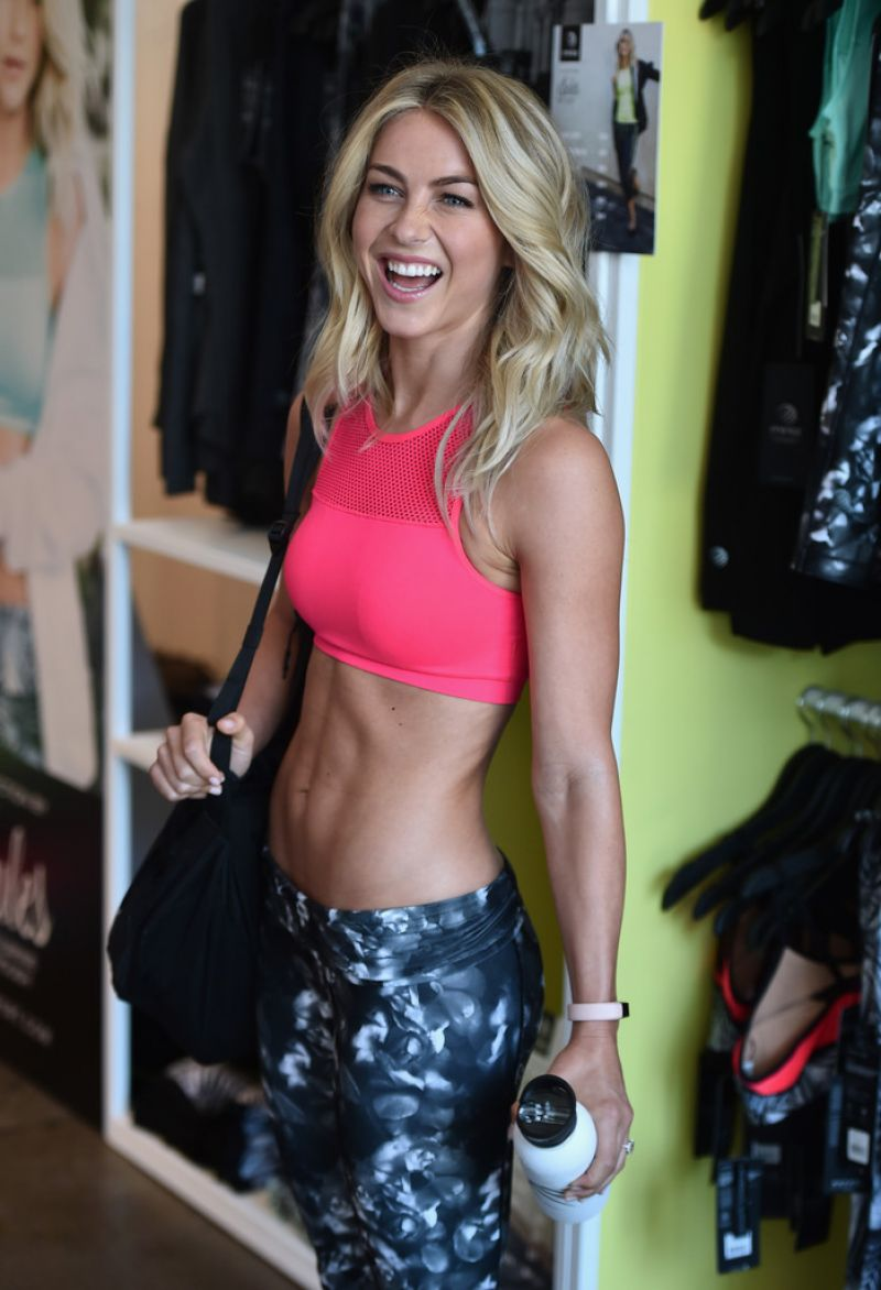 JULIANNE HOUGH at Shape Body Shop Launch in Los Angeles 06 ...