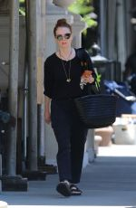 JULIANNE MOORE Out and About in New York 06/06/2016
