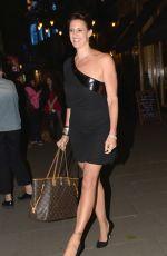 KAREN PICKERING Leaves Waldorf Charity Ball in London 06/09/2016