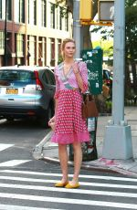 KARLIE KLOSS Out and About in New York 06/15/2016