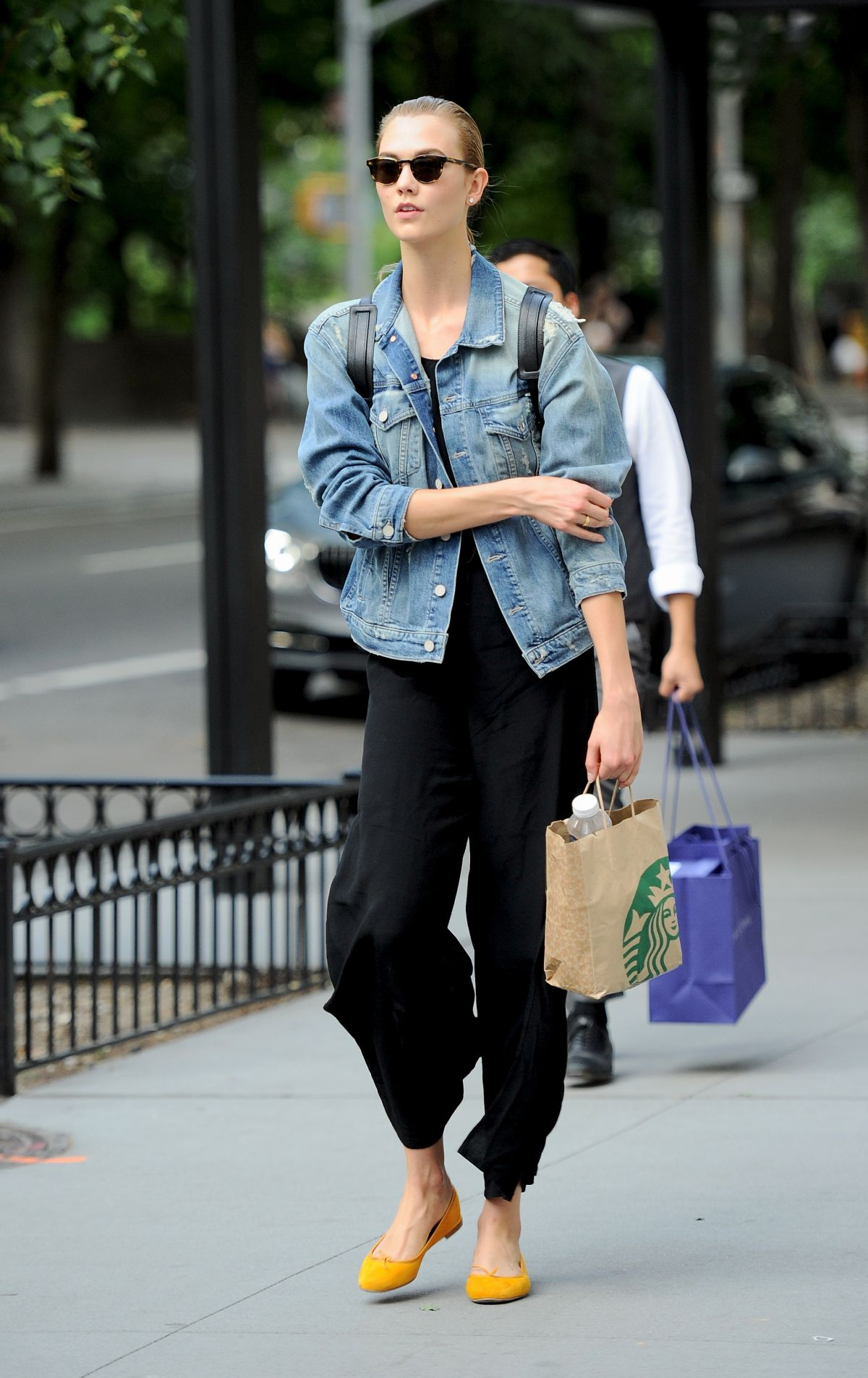 KARLIE KLOSS Out in New York 06/21/2016