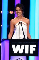 KATE BECKINSALE at Women in Film 2016 Crystal + Lucy Awards in Los Angeles 06/15/2016