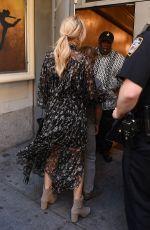KATE HUDSON Arrivesa at Broadway in New York 06/09/2016