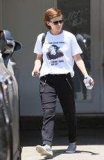 KATE MARA Out and About in Los Angeles 06/02/2016