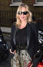 KATE MOSS Out for Shopping in London 06/08/2016