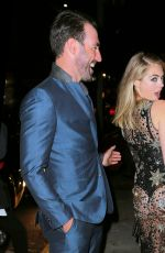 KATE UPTON at Her 24th Birthday Bash at Blond in New York 06/08/2016