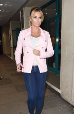 KATIE PRICE at Channel 4 Studios in East London 06/22/2016