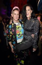KATY PERRY at Moschino Spring/Summer 2017 Menswear and Women
