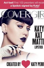 KATY PERRY for 2016 Covergirl Katy Kat Collection Campaign