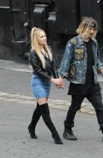 KELLI BERGLUND and Tyler Wilson Out in Los Angeles 06/11/2016