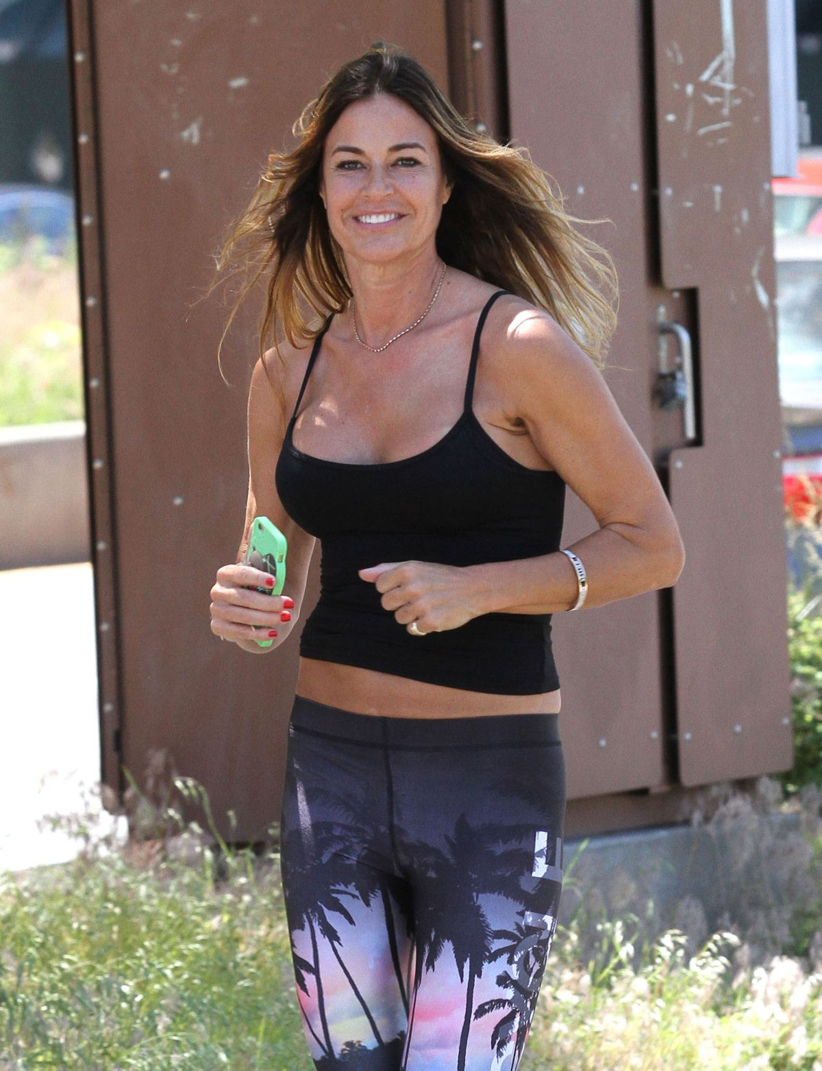 KELLY BENSIMON Out Jogging in New York 06/09/2016