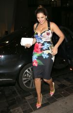 KELLY BROOK Night Out in London 06/29/2016