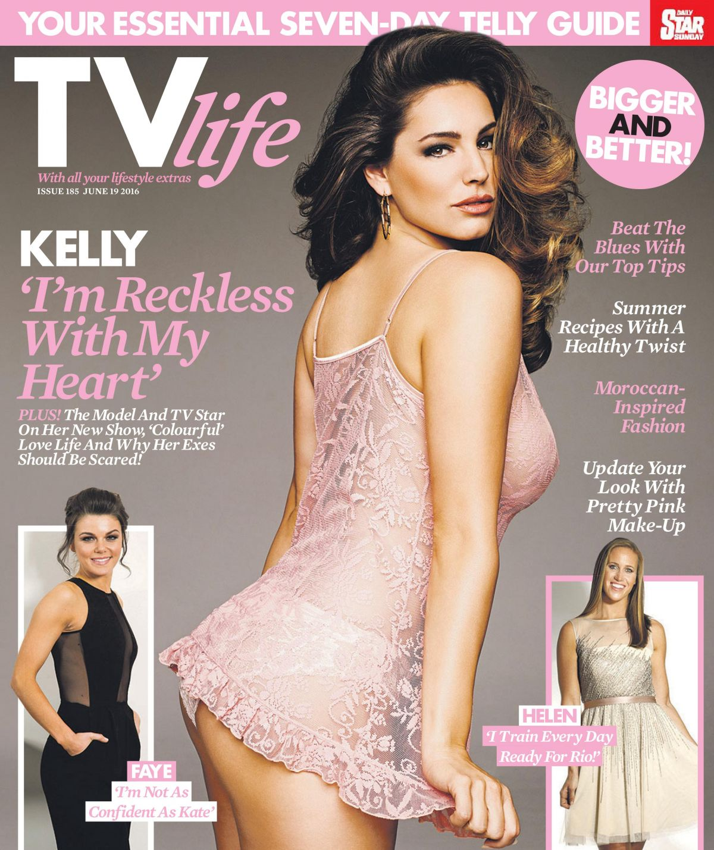 KELLY BROOK TV Life Magazine, June 2016 Issue
