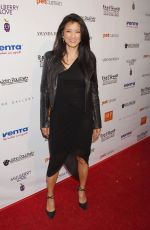 KELLY HU at 2nd Annual Art for Animals Fundraiser in West Hollywood 06/04/2016