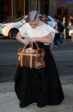 KELLY OSBOURNE Arrives at 7th Annual Amfar Inspiration Gala in New York 06/09/2016