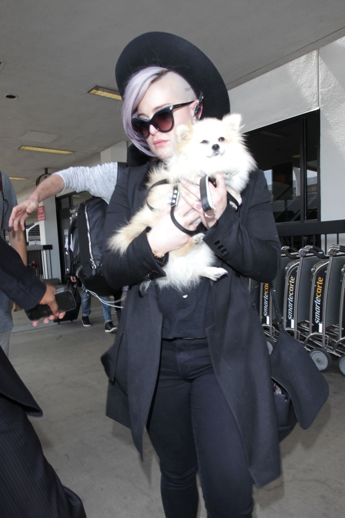 KELLY OSBOURNE at LAX Airport in Los Angeles 06/10/2016