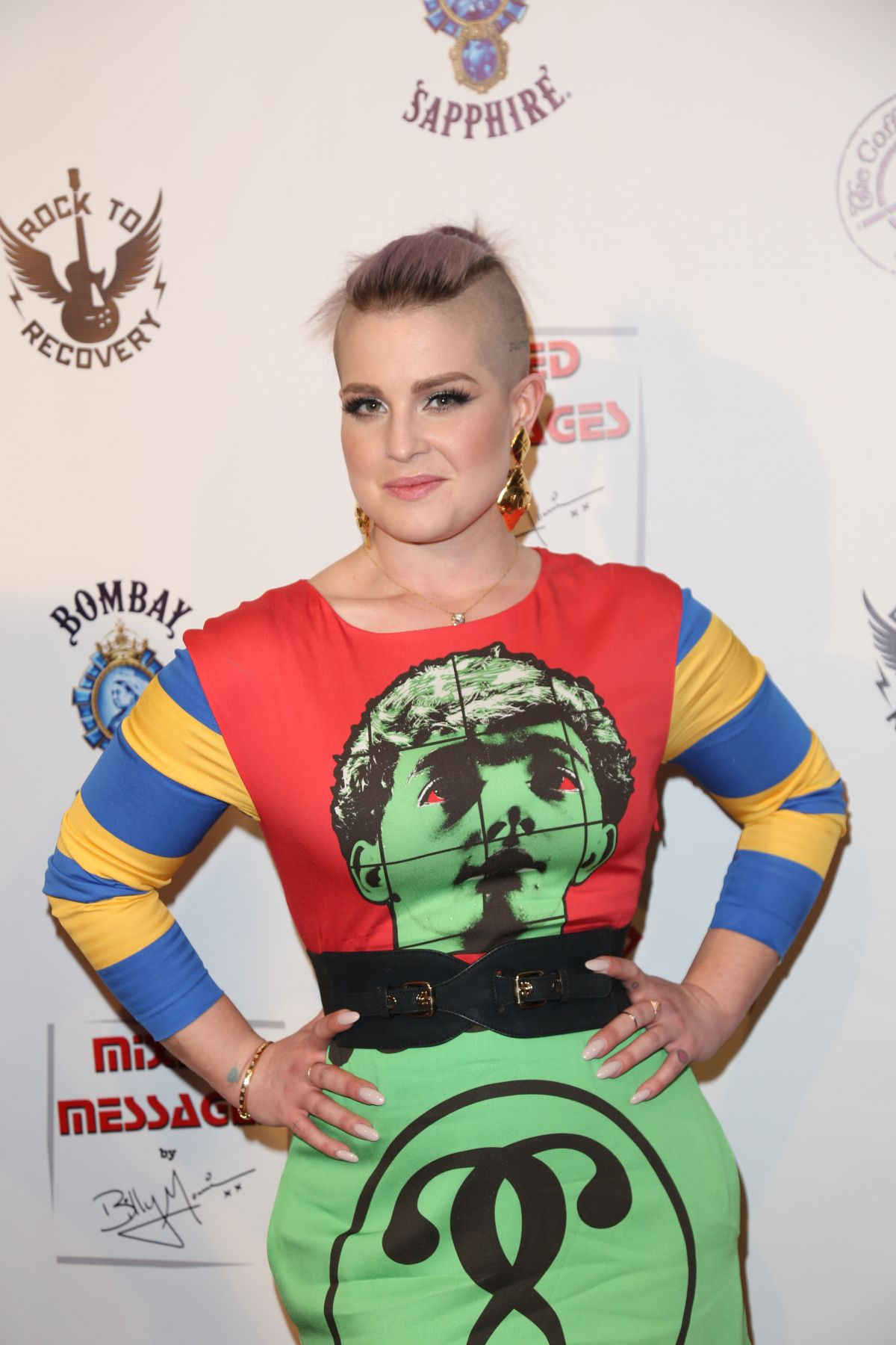 KELLY OSBOURNE at Sur Le Mur Presents Mixed Messages Art Opening in Beverly Hills 06/11/2016