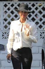 KELLY ROWLAND Out in Beverly Hills 06/07/2016
