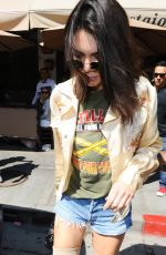 KENDALL JENNER at Il Pastaio in Beverly Hills 06/13/2016