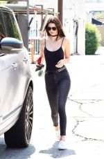 KENDALL JENNER in Tights Out in West Hollywood 06/07/2016