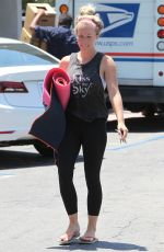 KENDRA WILKINSON Leaves a Yoga Class in Los Angeles 06/22/2016