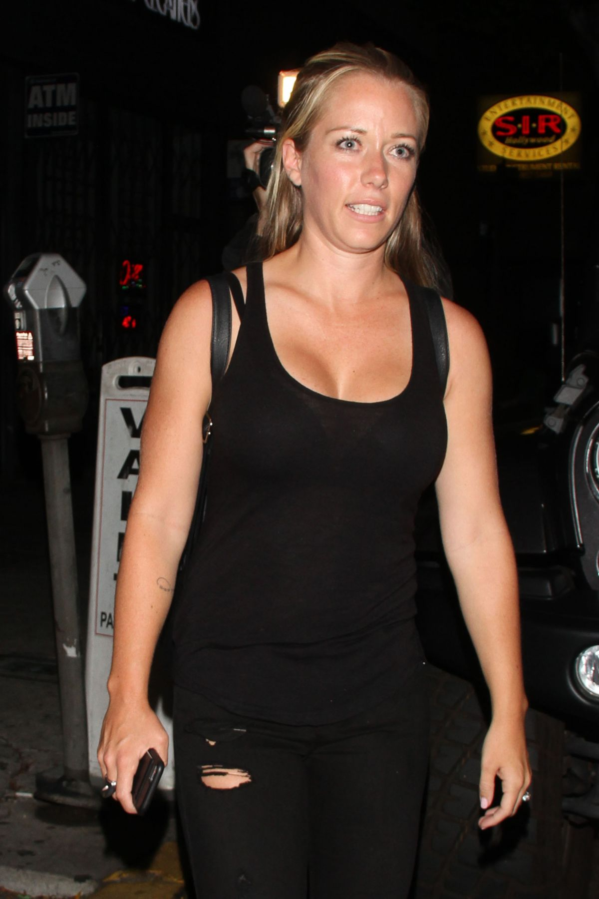 KENDRA WILKINSON Night Out in Hollywood 06/15/2016