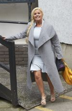 KERRY KATONA Leaves ITV Studios in London 06/22/2016