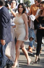 KIM KARDASHIAN Arrives at The Forum in Los Angeles 06/24/2016