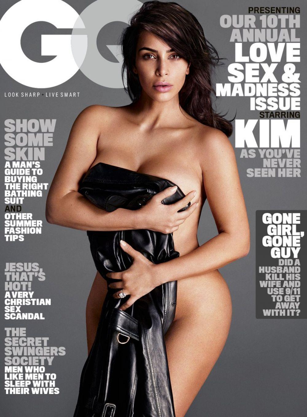 KIM KARDASHIAN in GQ Magazine, June 2016 Issue