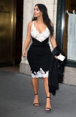 KIM KARDASHIAN Leaves Her Apartment in New York 06/06/2016