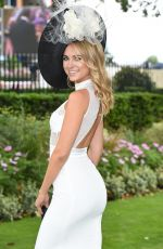 KIMBERLEY GARNER at Royal Ascot at Ascot Racecourse in Berkshire 06/16/2016