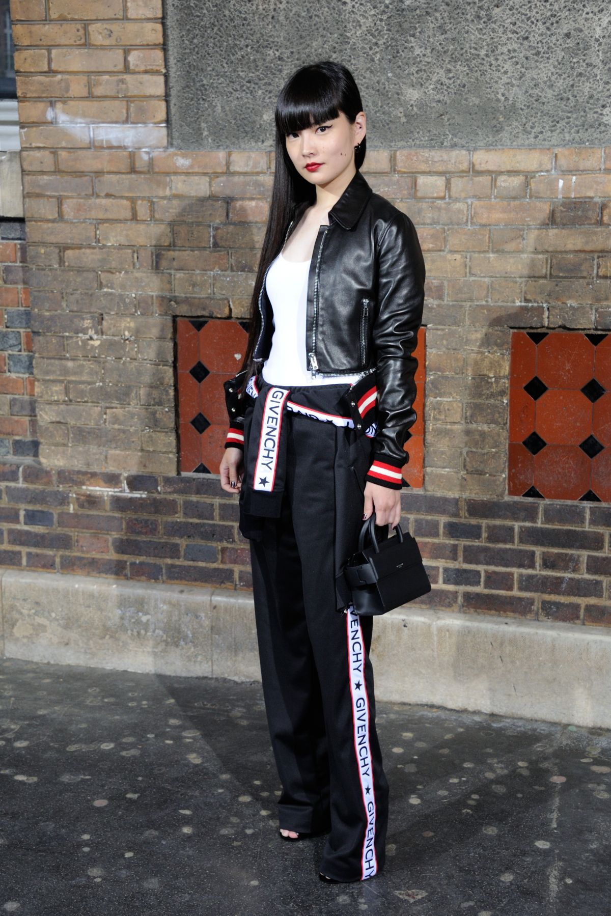KOZUE AKIMOTO at Gvenchy Fashion Show in Paris 06/24/2016