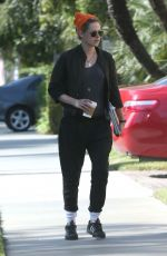 KRISTEN STEWART Out and About in Studio City 06/15/2016