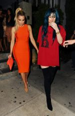 KYLIE JENNER and KHLOE KARDASHIAN Out in Hollywood 06/14/2016
