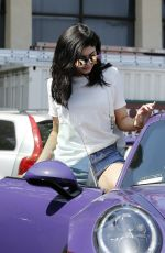 KYLIE JENNER Out and About in Malibu 06/03/2016