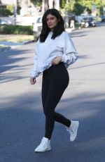 KYLIE JENNER Out and About in Van Nuys 06/07/2016