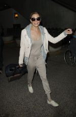 LANN RIMES at LAX Airport in Los Angeles 06/17/2016