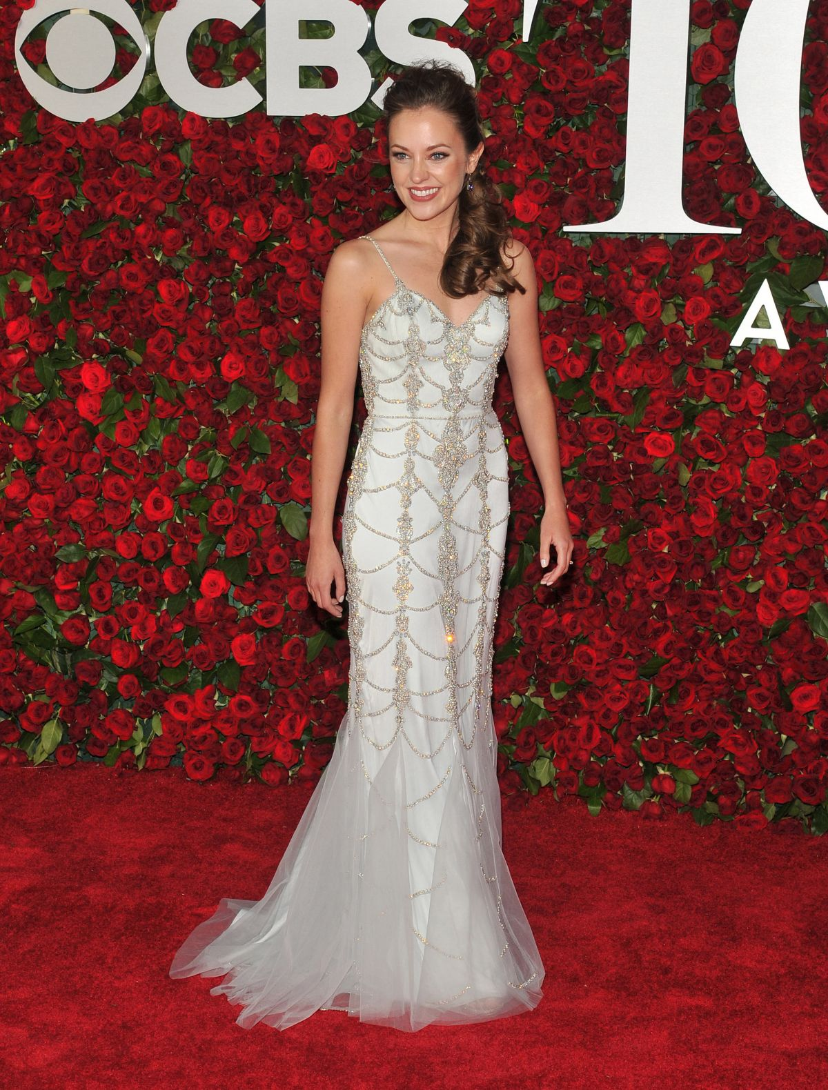 LAURA OSNES at 70th Annual Tony Awards in New York 06/12/2016
