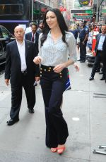 LAURA PREPON Arrives at Good Morning America in New York 06/20/2016