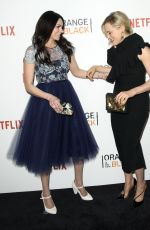 LAURA PREPON at Orange is the New Black Season 4 Premiere in New York 06/16/2016