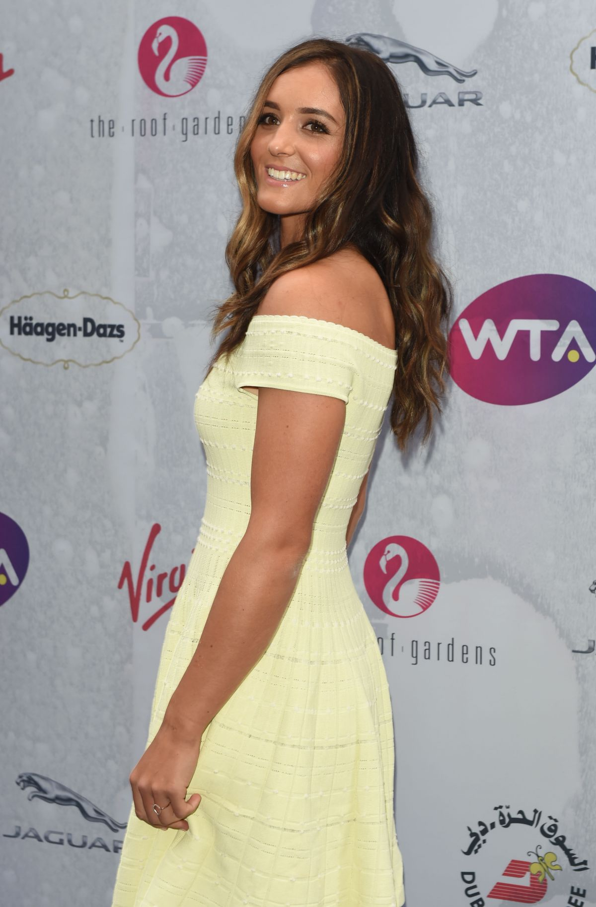 LAURA ROBSON at WTA Pre-Wimbledon Party in London 06/23/2016