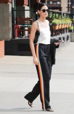 LILY ALDRIDGE Out in New York 06/04/2016