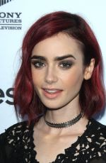 LILY COLLINS at Sony Pictures Television #socialsoiree in Los Angeles 06/28/2016