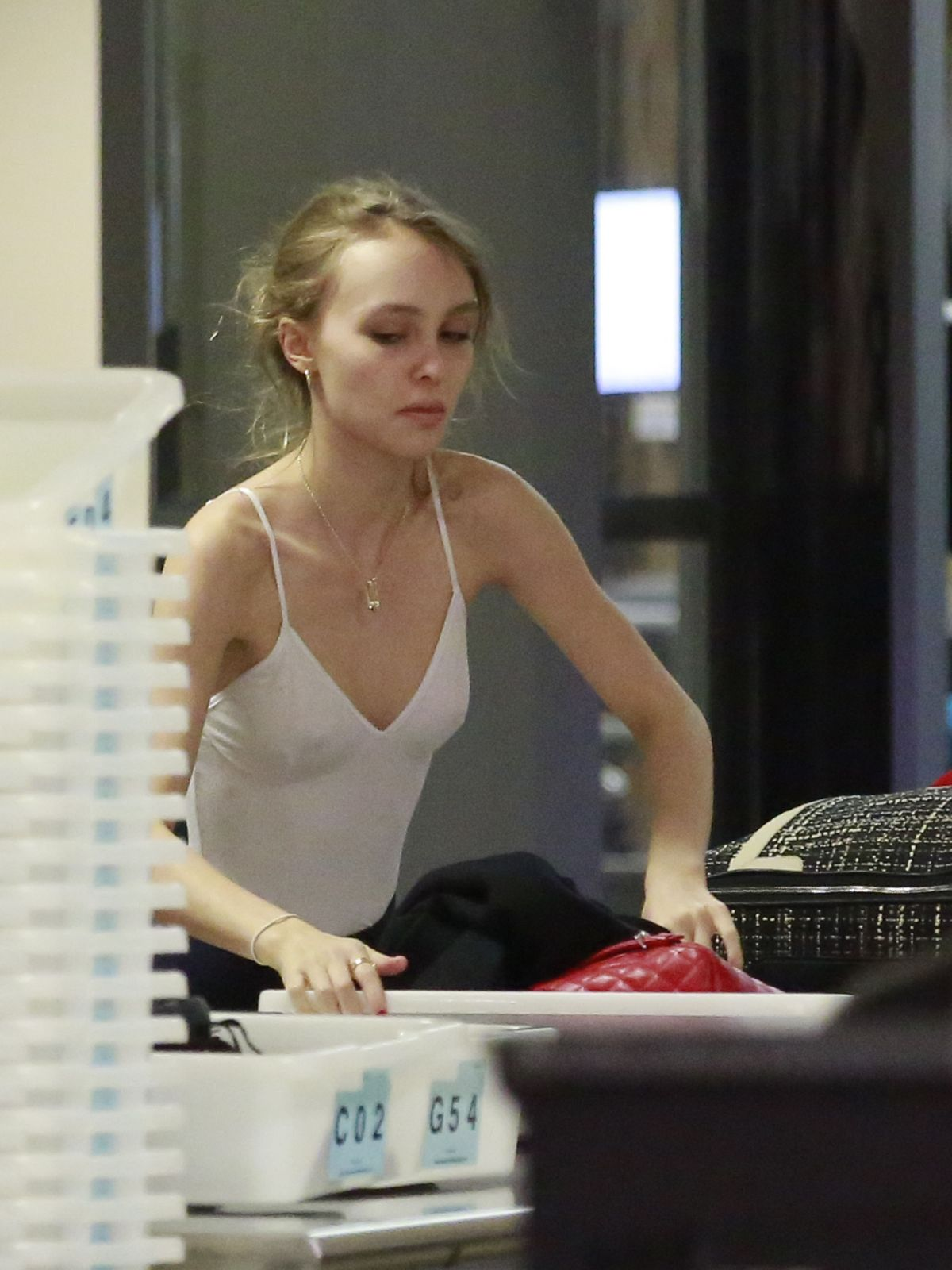 LILY-ROSE DEPP at Los Angeles International Airport 06/18/2016