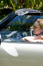 LINDSAY LOHAN and Egor Tarabasov Drive Around Mauritius Island 06/24/2016